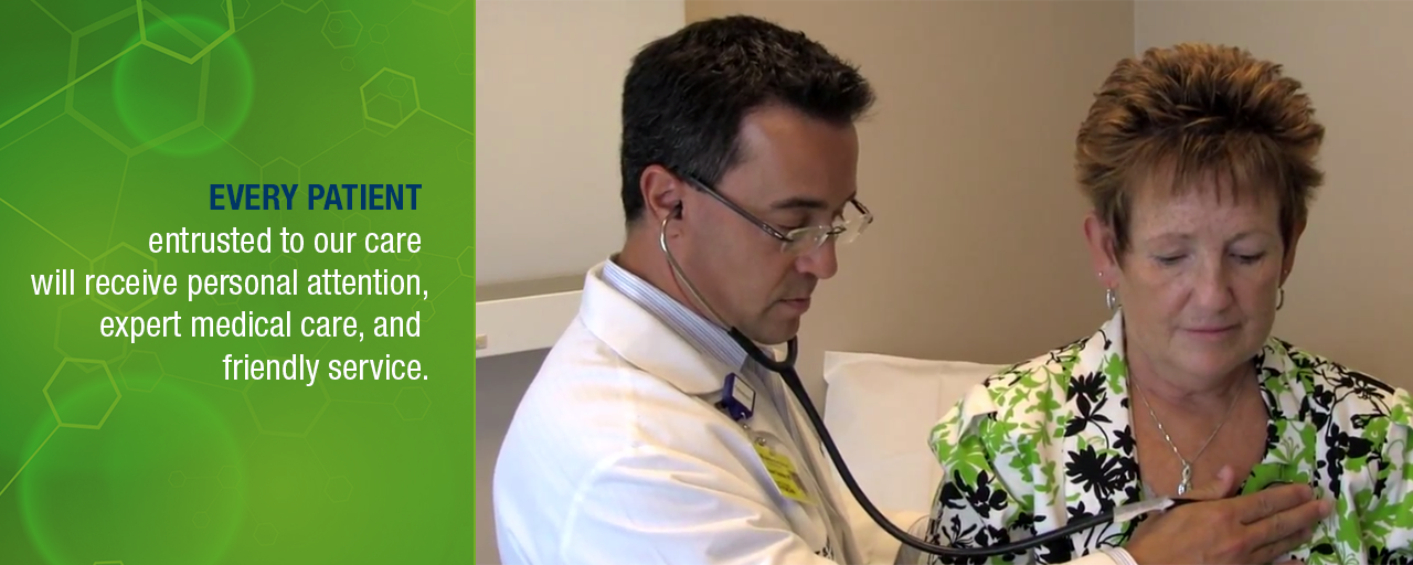 Every patient entrusted to our care will receive personal attention, expert medical care and friendly service